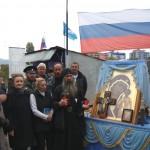 Крестный ход с Табынской иконой Богородицы приближается к Славянскому району (фото)
