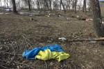 Фоторепортаж: разгромленный лагерь Правого сектора под Дебальцево (фото)
