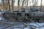 Фото: разгром колонны украинской оккупационной армии в Дебальцево (фото)