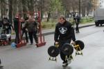 В Дебальцево состоялись богатырские игры среди силачей ДНР (фото)