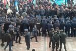 В Киеве разгорается шахтёрское восстание (фото)