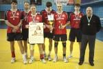Завершился чемпионат ДНР по волейболу: донецкие волейболисты заняли I место (фото)