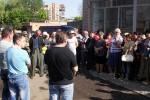 Работники Горводоканала в г. Славянске начали бастовать (фото)